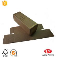 Brown kraft paper sunglass packaging box
