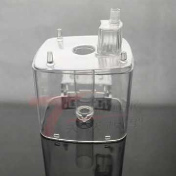 Usinage CNC prototype en plastique transparent acrylique transparent