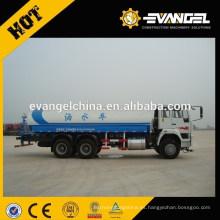 Camión del tanque de agua del howo 20m3 6x4 con precio