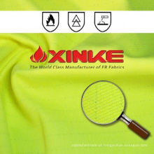 Poliéster Protetor de Xinke / algodão Tecido Retardador de Chamas para roupas de trabalho