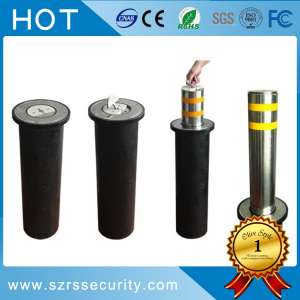 Automatic Manual Steel Removable Bollard dengan Inner Lock
