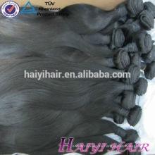 Las etiquetas más populares del pelo malayo de la nueva llegada para los paquetes de pelo al por mayor indio de la Virgen