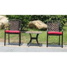 Cast Aluminum Furniture Outdoor Garden Leisure Armrest Chair (SZ218; CZ084)