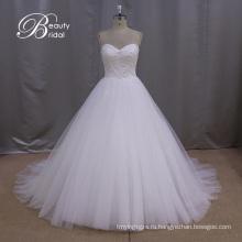 Королевский Паффи Бальное Платье Свадебное Платье