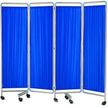 Krankenhaus Ward Falten Bildschirm (4-fach)