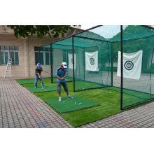 Golf driving range nettning