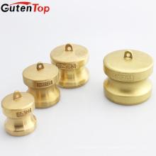 """GutenTop Haute Qualité Camlock DP-200 4 """"Brass Couplage Cam Groove Connexion Rapide Capuchon De Capuchon De Poussière"""