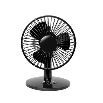 Black Fan Stand table designe simple