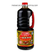 1.7L Sauce de soja leve superior com preço barato