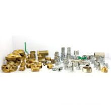 Brass Pipe Fitting (elbow tee coupling connector)