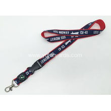 Good Quality Polyester Silk Screen Lanyards