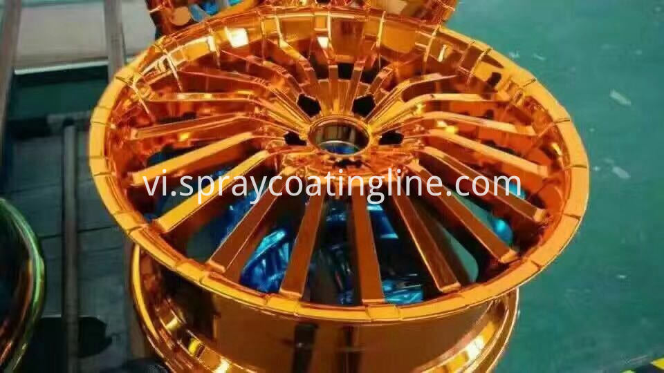 nano spray chrome wheel
