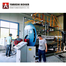 4ton Natural Gas Steam Boiler for Canned Tuna Factory