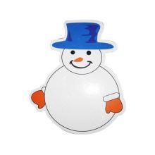 deslizamiento de niños movibles niños dibujos animados lindo (hombre de nieve) Tablero blanco