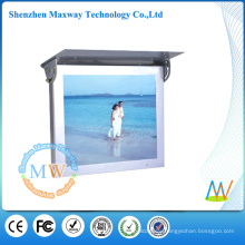 15 inch bus lcd display support WiFi or 3G network