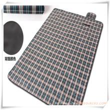 Alfombra de picnic al aire libre a prueba de humedad de la tela escocesa para la promoción