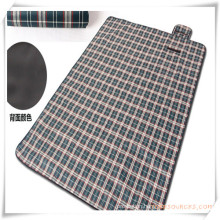Outdoor Plaid Dampproof Picnic Mat for Promotion