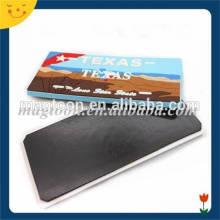 Customized reuseable 2d soft pvc fridge magnet