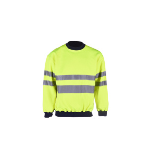 high visibility reflective comfortable sweatshirt