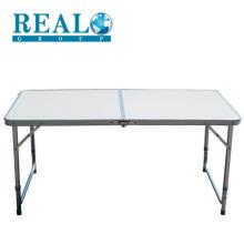 Atacado de alumínio dobrável camping mesa ao ar livre com o conjunto de mesa de bancada de complemento
