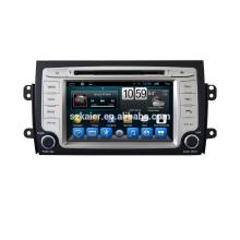 Navegador de radio del coche android 6.0 / 7.1 del doble Din de la fábrica con el GPS para el reproductor de DVD del coche de Suzuki SX4 2006-2014