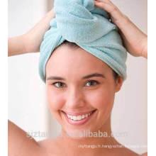 Casquette en turban pour femmes en coton microfibre