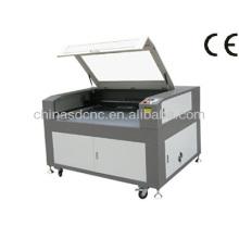 JK1280 caliente venta barato láser CO2 de grabado y corte de materiales del no metal