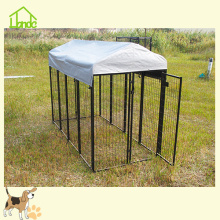Cages de course de chien d'animal de tube carré durable