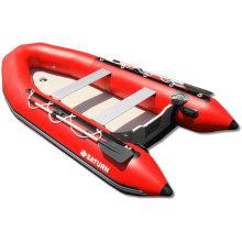 Starre rote PVC-aufblasbare Boot