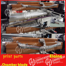 Printing Machine with Chamber Doctor Blade Parts