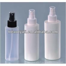 120ml 150ml 200ml botella plástica del aerosol del perfume del perfume PE