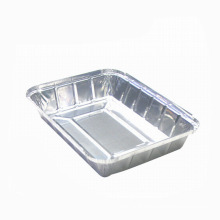 Aluminum foil container barbecue tray
