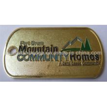 Customized Gold Plating & Zinc Die Cast Process Badge 029