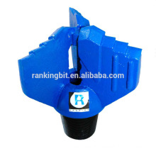 Quality Water well drilling 3 blades tungsten carbide drilling drag bit