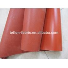 China borracha de silicone revestido de fibra de vidro, folha de silicone resistente ao calor, fornecedor de China