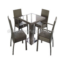 Outdoor Rattan Bar Furniture Tea Chair Table