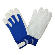 Pig Grain Leather Mechanic Work Glove