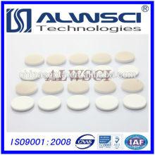 Fabrication de clapet de silicone naturel PTFE / blanc de 22 mm, blanc de 3 mm d'épaisseur