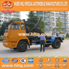 SHACMAN AOLONG 4X2 10cubic hook lift garbage truck 270hp hot sale with high performance in China