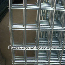 Panel de malla de alambre soldado galvanizado 2x2