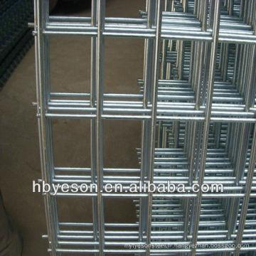 Panneau en maille soudé galvanisé 2x2