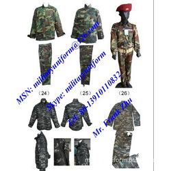 Digital Ribstop Military Camouflage Battle Dress Uniform BDU BDU Pant BDU Shirt BDU Cap Bonnie Hat