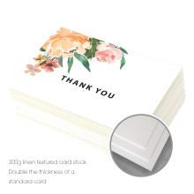 Tarjetas de regalo plegables hechas a mano de encargo del acontecimiento del saludo de los diseños de tarjeta al por mayor baratos