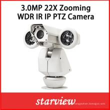 3.0MP 22X Zooming HD Network IP WDR IR PTZ Camera