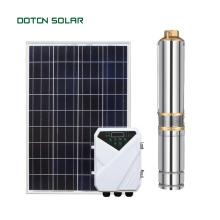 DOTON  High Pressure Water Solar Deep Well Pump Solar Submersible Pump For Irrigation