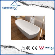 Bathroom Solid Surface Freestanding Bathtub (AB6592)