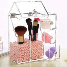 Parfüm-Flasche Einzelhandel Acryl-Display-Schritte