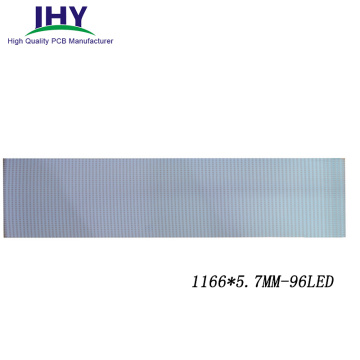 FR4 Material LED PCB Board Strip Light Bar Metal Core PCB for T5 T8