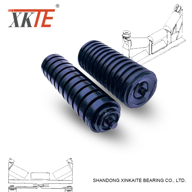 89mm Dia Belt Conveyor Impact Idler Roller