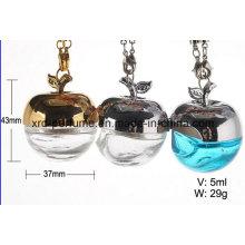 Apple-Form-leere hängende Auto-Parfümflasche-Kosmetik-Verpackung